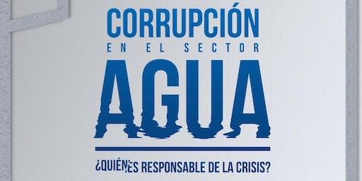 Corrupción en el sector agua. ¿Quién es responsable de la crisis?