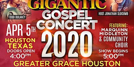 GIGANTIC GOSPEL CONCERT tickets