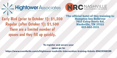 Nashville Intervention training with Earl Hightower
