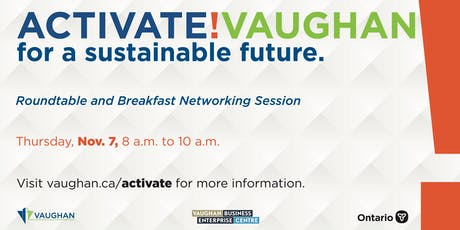 Activate! Vaughan Roundtable & Breakfast Networking Session tickets