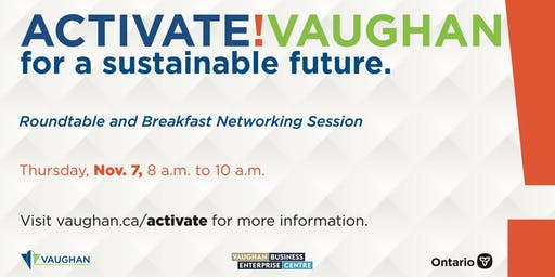 Activate! Vaughan Roundtable & Breakfast Networking Session