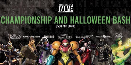 Monsterslayer Championship and Halloween Bash tickets
