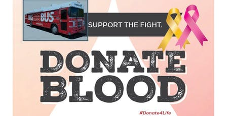 SUPPORT THE FIGHT BLOOD DRIV tickets