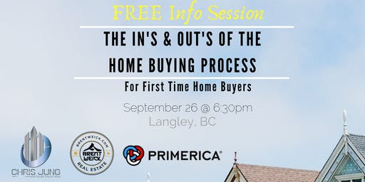 First Time Home Buyer In's & Outs Info Session for Real Estate