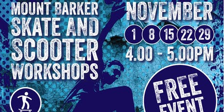 Mount Barker SKATE Workshops Session 4 tickets
