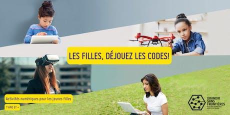Les filles, déjouez les codes ! à Québec billets