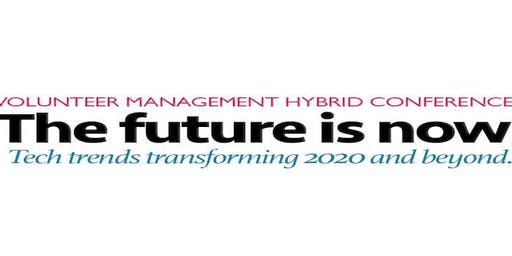 The Future is Now - A hybrid conference for volunteer professionals