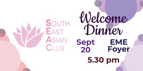 SEAC Welcoming Dinner tickets