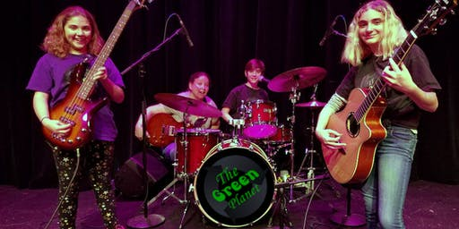 FREE CONCERT - THE GREEN PLANET BAND at ELECTRIC RIDE CAR SHOW