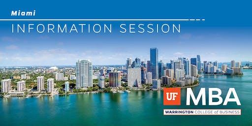 UF MBA - Miami Information Session