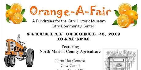 Citra Orange A Fair tickets