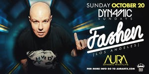 Aura Dynamic Sunday ft. Dj Fashen |10.20.19|