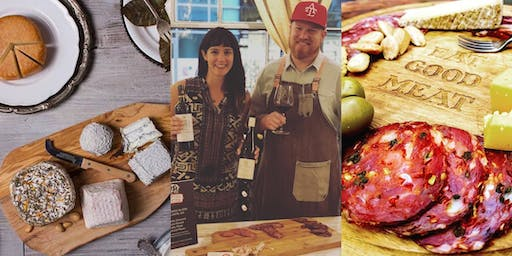 Wine & Cheese Tasting + Charcuterie with The Spotted Trotter