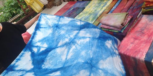 Indigo Explorations workshop at Ragfinery