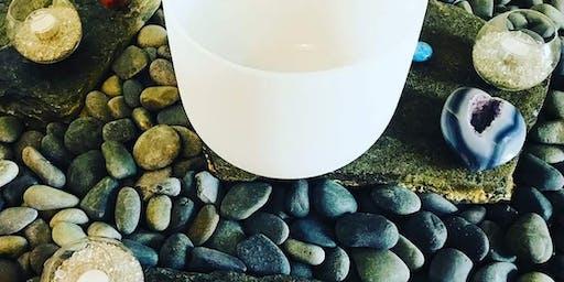 Meditation and Crystal Bowl Sound Bath