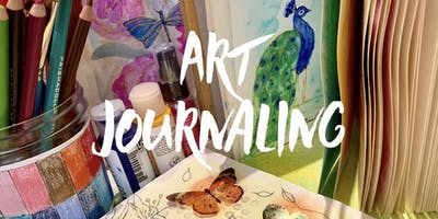 Awaken your creativity and learn to art journal. Beginners welcome!