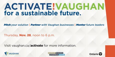 Activate! Vaughan Innovation Challenge tickets
