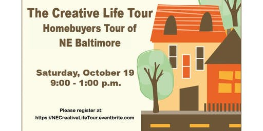 The Creative Life Tour  -  Homebuyers Tour of Northeast Baltimore