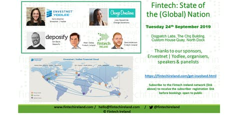 Fintech - State of the (Global) Nation tickets