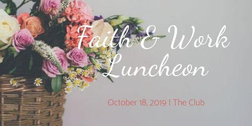 2019 WBL Faith & Work Luncheon