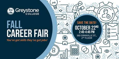 Greystone College Fall Career Fair 2019 tickets