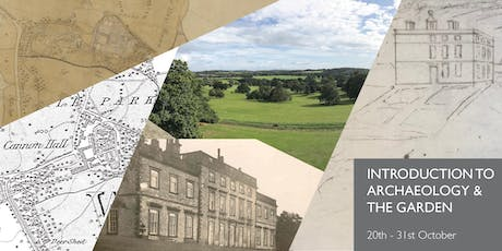 Introduction to Archaeology and the Garden at Cannon Hall tickets