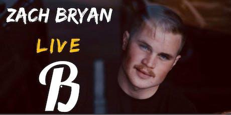 Zach Bryan LIVE tickets