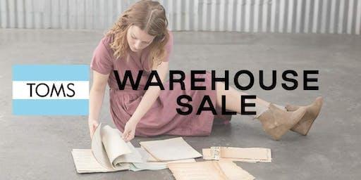TOMS Warehouse Sale  - Santa Ana, CA