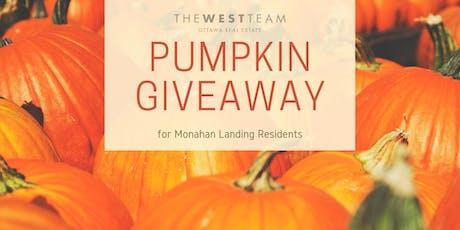 MoLa Pumpkin Giveaway tickets