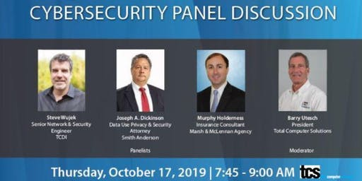 Cybersecurity Panel Discussion