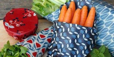 DIY Reusable Beeswax Food Wrap