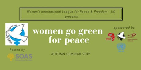 Women Go Green for Peace tickets