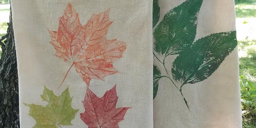 Fall Leaf Printing Workshop