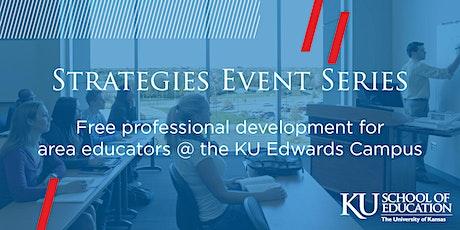 Strategies Event Series at KU Edwards Campus tickets