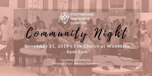 International Leadership Coalition Community Night