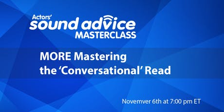 """MORE Mastering the """"Conversational"""" Read tickets"""