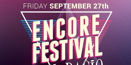 ENCORE MUSIC FESTIVAL tickets