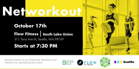 Networkout October | Flow Fitness - South Lake Union tickets