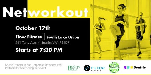 Networkout October | Flow Fitness - South Lake Union