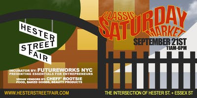 Hester Street Fair's Vegan Food & Futureworks NYC