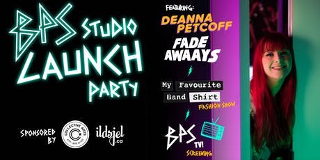BPS Studio Launch Party! Saturday, September 28!  tickets