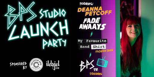BPS Studio Launch Party! Saturday, September 28!