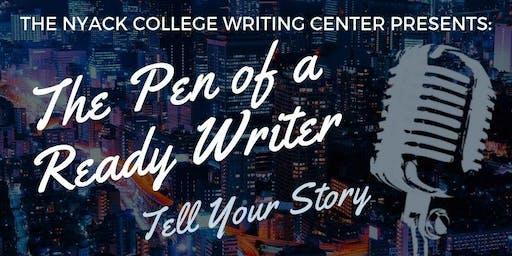 The Pen of a Ready Writer - Spoken Word Workshop Series