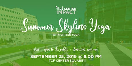 Summer Skyline Yoga - with Citizen's Yoga tickets