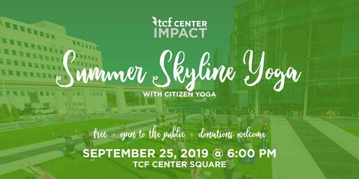 Summer Skyline Yoga - with Citizen's Yoga