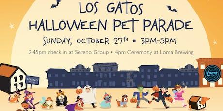 Los Gatos Halloween Pet Parade tickets