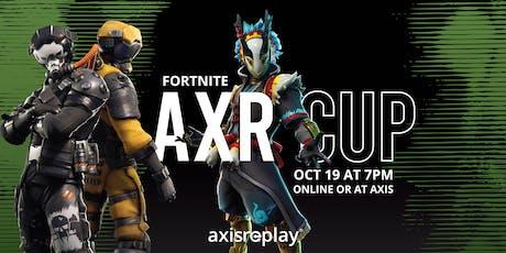 Fortnite: AXR Cup tickets