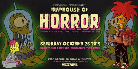 FREE RSVP: FUNCTION - TRAP HOUSE OF HORROR at MEZZANINE tickets