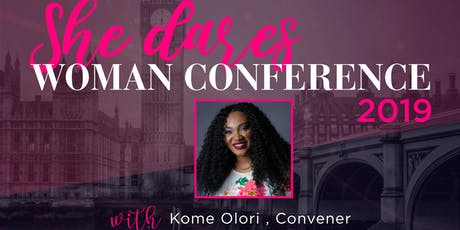 She Dares Woman Conference 2019 tickets