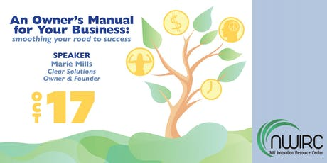 An Owner's Manual for Your Business: smoothing your road to success tickets